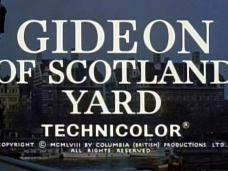 Gideon's Day (1958) opening credits [as Gideon of Scotland Yard]