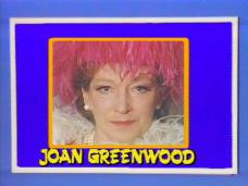 Joan Greenwood (as Lady Chloe Carlton) in a screenshot from Girls on Top (1985-86) (15)