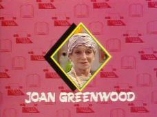 Joan Greenwood (as Lady Chloe Carlton) in a screenshot from Girls on Top (1985-86) (16)