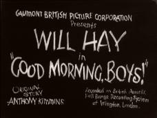 Good Morning, Boys (1937) opening credits