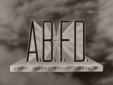 Main title from The Goose Steps Out (1942) (10). Associated British Film Distributors (A.B.F.D.)