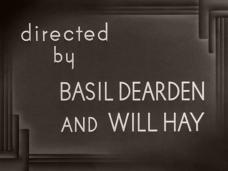 Main title from The Goose Steps Out (1942) (9). Directed by Basil Dearden and Will Hay