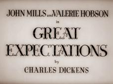 Great Expectations (1946) opening credits