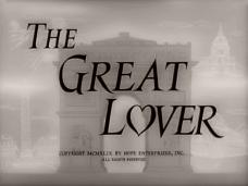 The Great Lover (1949) opening credits (4)