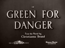 Green for Danger (1947) opening credits (2)