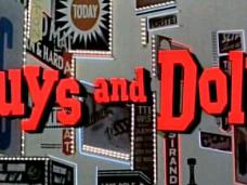 Guys and Dolls (1955) opening credits