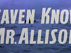 Heaven Knows, Mr Allison (1957) opening credits (4)