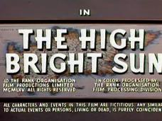 Main title from The High Bright Sun (1965) (6)