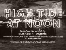 High Tide at Noon (1957) opening credits (4)