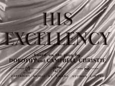 His Excellency (1952) opening credits (5)