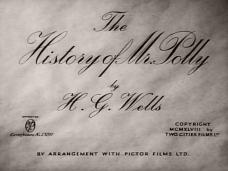 The History of Mr Polly (1949) opening credits