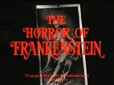 The Horror of Frankenstein (1970) opening credits (2)