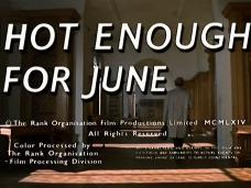 Hot Enough for June (1964) opening credits (4)