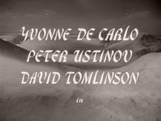 Main title from Hotel Sahara (1951) (2). Yvonne De Carlo, Peter Ustinov, David Tomlinson in