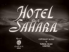 Main title from Hotel Sahara (1951) (3)