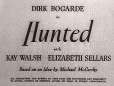 Hunted (1952) opening credits (3)