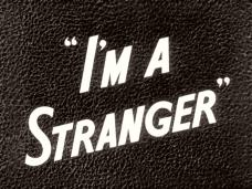 Main title from I'm a Stranger (1952) (3)