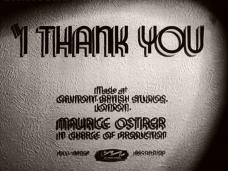 I Thank You (1941) opening credits (3)