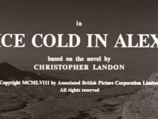 Ice Cold in Alex (1958) opening credits