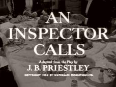 An Inspector Calls (1954) opening credits