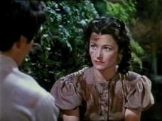 Dermot Walsh (as Barney Hatton) and Margaret Lockwood (as Jassy Woodroffe) in a screenshot from Jassy (1947) (1)
