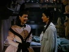 Patricia Roc (as Dilys) and Margaret Lockwood (as Jassy Woodroffe) in a screenshot from Jassy (1947) (2)