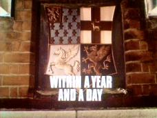 Main title from the 1971 episode of Justice (1971-74) called Within a Year and a Day (1971)