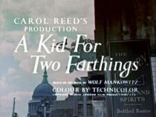 A Kid for Two Farthings (1955) opening credits