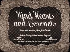 Kind Hearts and Coronets (1949) opening credits