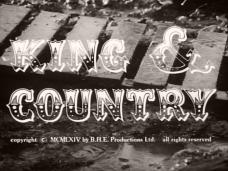 King & Country (1964) opening credits