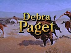 Main title from The Last Hunt (1956) (11). Debra Paget