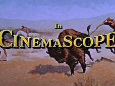 Main title from The Last Hunt (1956) (16). In CinemaScope