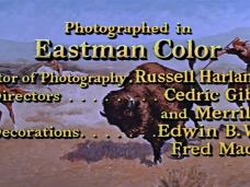 Main title from The Last Hunt (1956) (17)