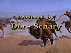 Main title from The Last Hunt (1956) (19). Produced by Dore Schary
