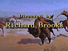 Main title from The Last Hunt (1956) (20). Directed by Richard Brooks