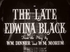 The Late Edwina Black (1951) opening credits (3)