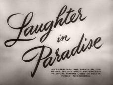 Laughter in Paradise (1951) opening credits