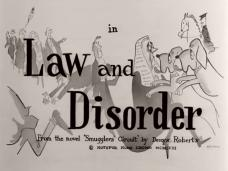 Main title from Law and Disorder (1958) (5)