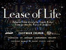 Lease of Life (1954) opening credits