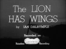The Lion Has Wings (1939) opening credits