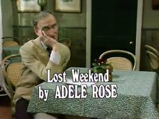 Main title from the 1979 'Lost Weekend' episode of Robin's Nest (1977-1981) (1). By Adele Rose