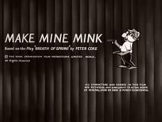 Make Mine Mink (1960) opening credits (4)