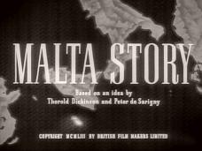 Malta Story (1953) opening credits