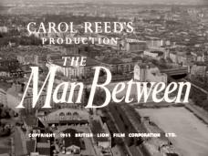Main title from The Man Between (1953) (3).  Carol Reed's production The Man Between.  Copyright 1953 British Lion Film Corporation Ltd