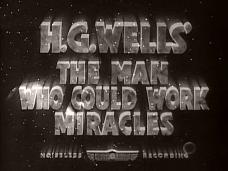 Main title from The Man Who Could Work Miracles (1936)