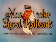 The Man Who Loved Redheads (1955) opening credits (3)