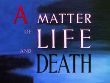 A Matter of Life and Death (1946) opening credits (6)