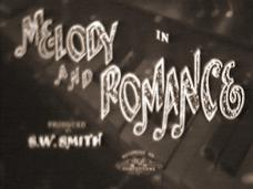 Melody and Romance (1937) opening credits