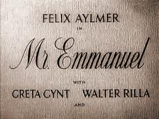 Main title from Mr. Emmanuel (1944)