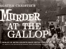 Murder at the Gallop (1963) opening credits (5)